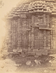 Close view of the north façade of the bhadraka (mandapa) of the Yameshvara Temple, Bhubaneshwar